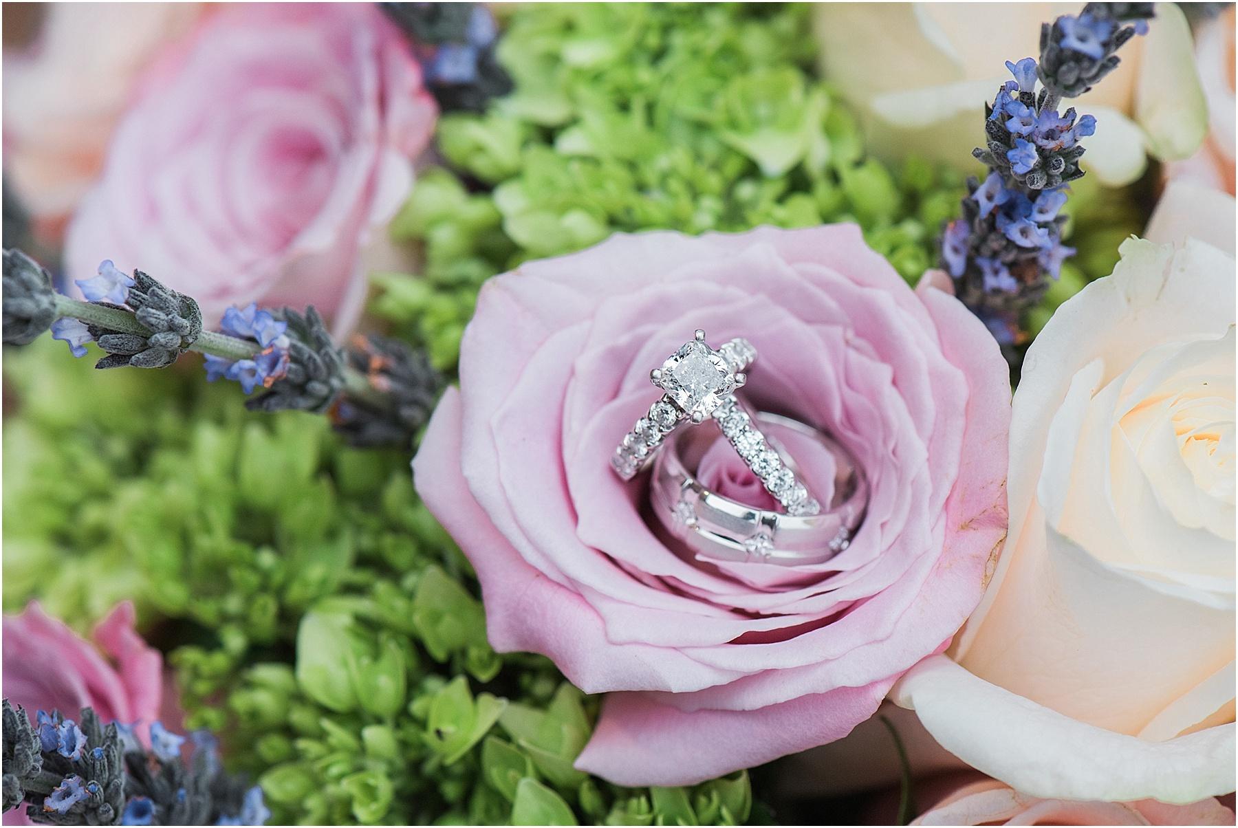 Greenville SC wedding photographer bridal portraits Furman University bride with bouquet SC wedding photographer Melissa Brewer Photography