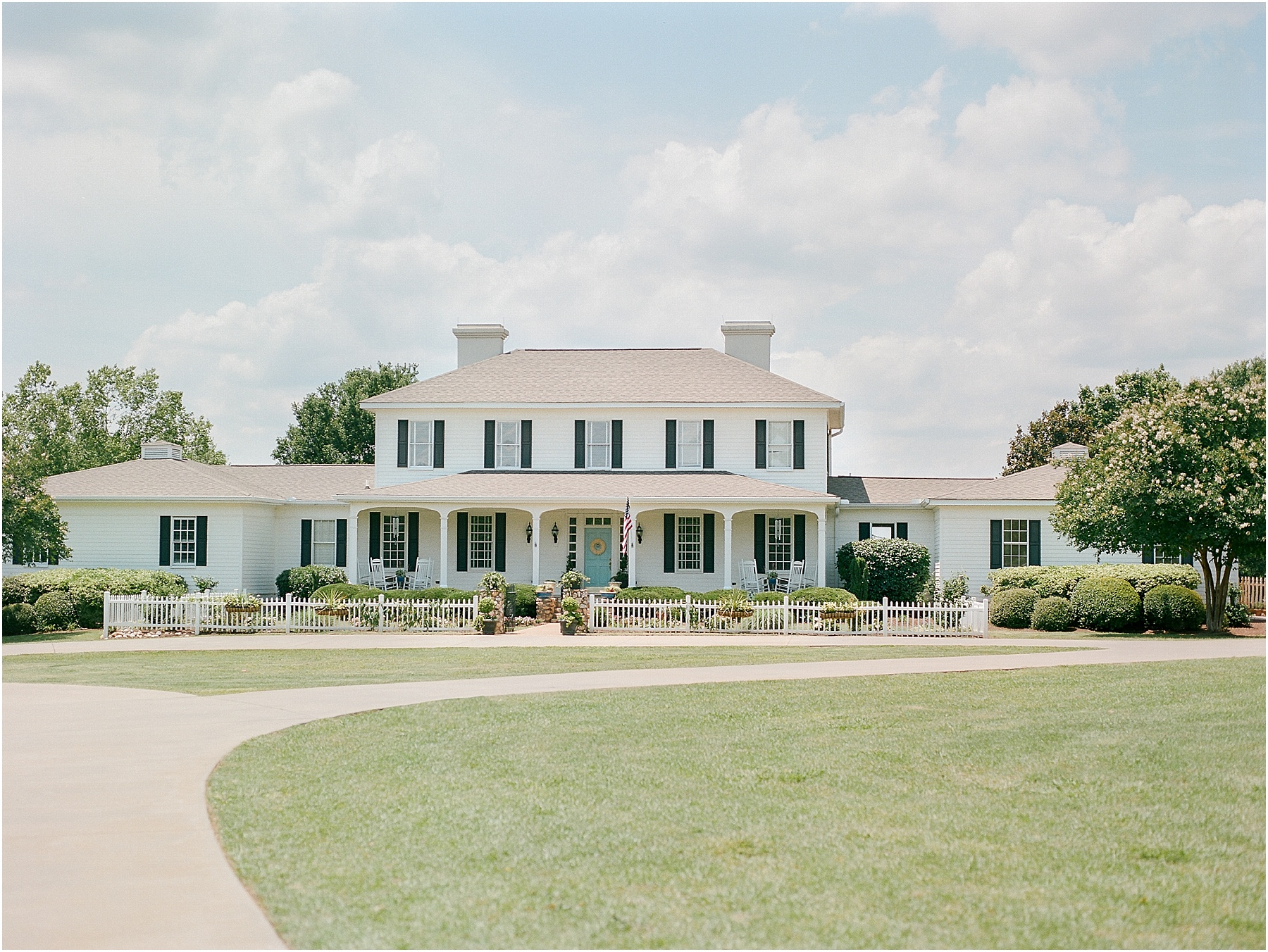River City Farms wedding venue in Winnsboro SC Columbia SC Film wedding photographer