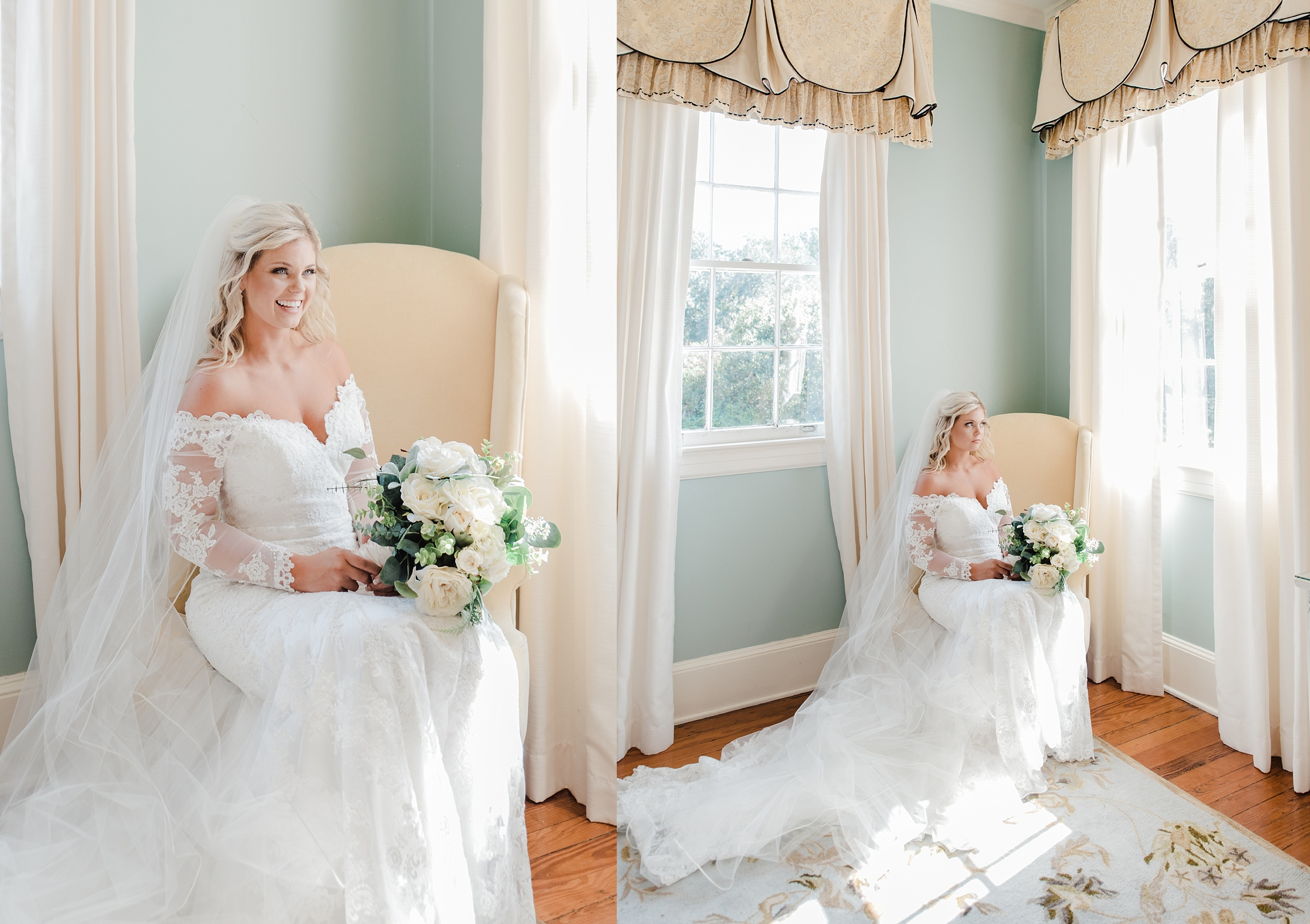legare waring house bridal session charleston sc film hybrid wedding photographer