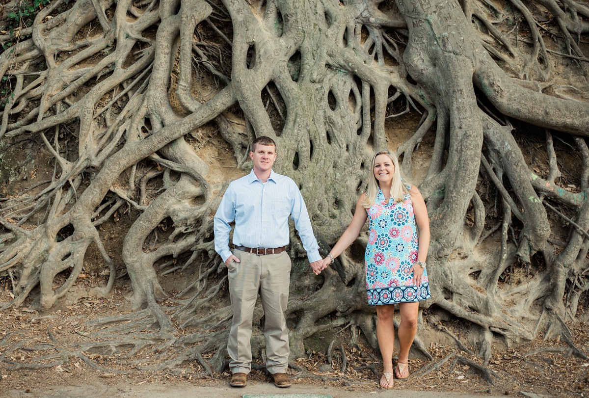 falls park greenville sc medusa tree engagement portrait session in greenville sc wedding photographer in greenville south carolina