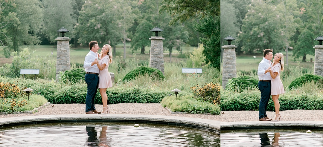 engagement at furman engagement session greenville sc engagement wedding photographer in greenville sc furman university engagement