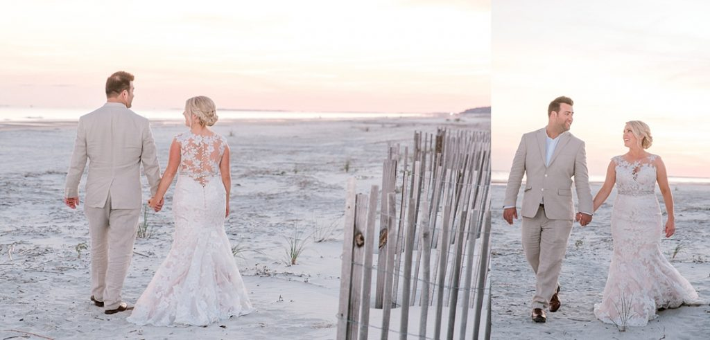 bride and groom portraits hilton head island sea pines resort bride and groom wedding photography