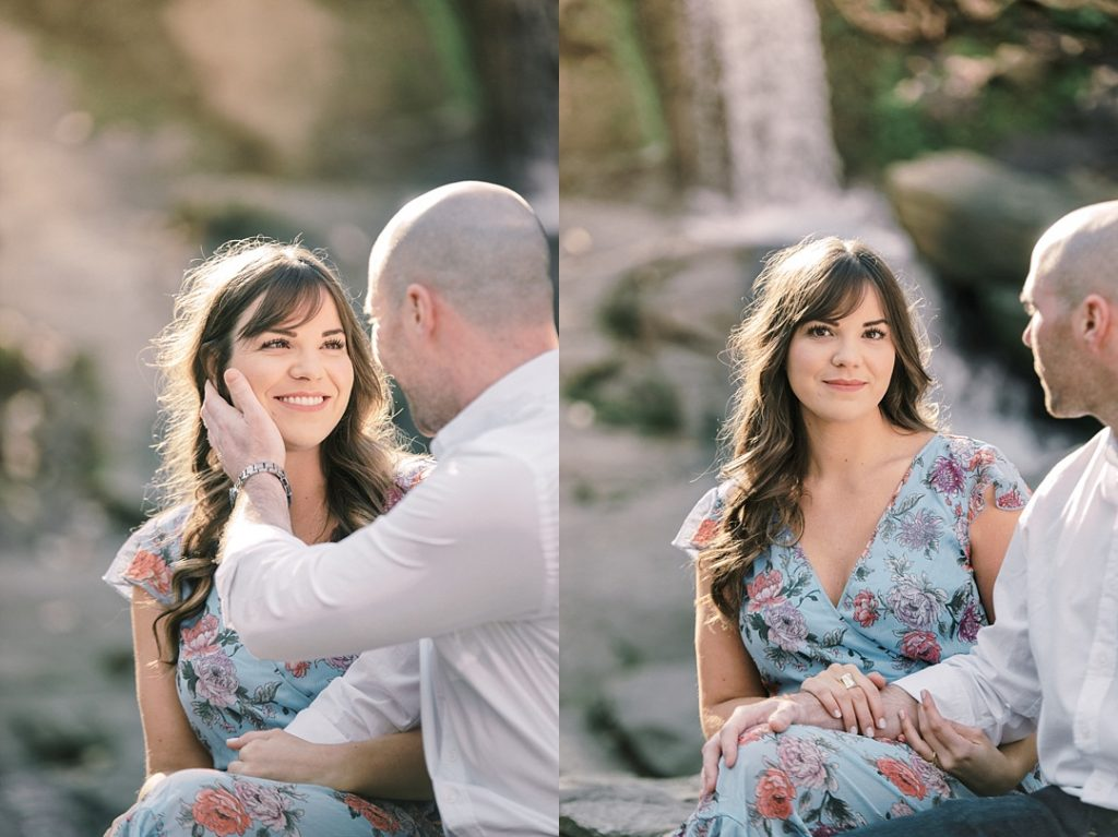 falls park on the reedy greenville sc waterfall greenville wedding photographer melissa brewer photography
